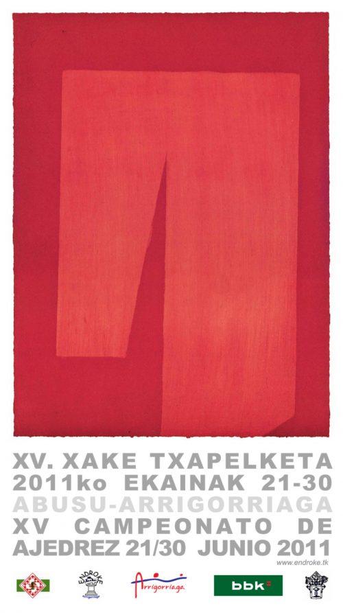 XV. xake txapelketa 2011ko