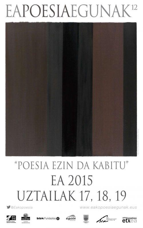 (Euskera) Ea poesia egunak 2015